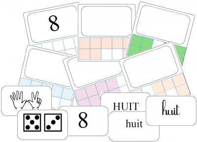 Numération : cartes à compter
