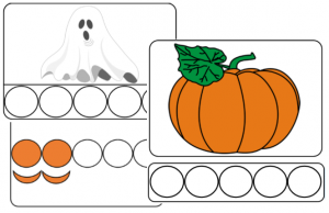 Phonologie Halloween : dénombrer et coder les syllabes orales