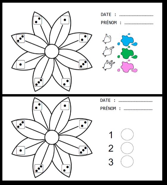 Numeration Coloriages Magiques Printaniers A La Croisee Des Savoirs