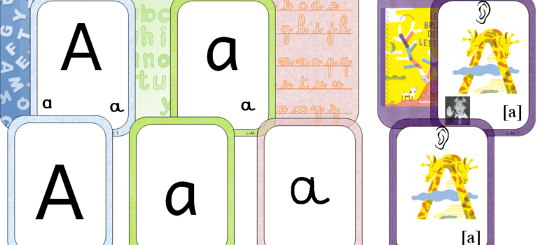Cartes alphabet et phonèmes